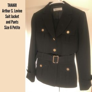 TAHARI - Pant Suit - Jacket / Blazer - Size 6